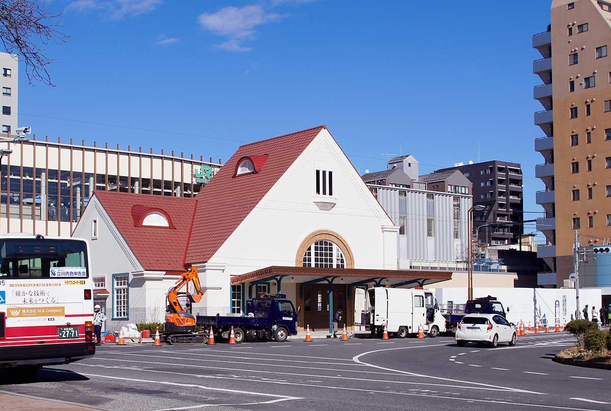 旧国立駅舎